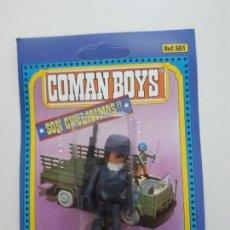 Coman Boys: COMAN BOYS MILITAR SERIE SOLDADOS DEL MUNDO REF 661 COMANSI FIGURA BLISTER NUEVO . Lote 170452440