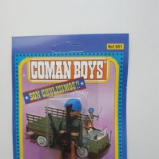 Coman Boys: COMAN BOYS MILITAR SERIE SOLDADOS DEL MUNDO CASCO AZUL RUBIO REF 661 COMANSI FIGURA BLISTER NUEVO. Lote 170452892