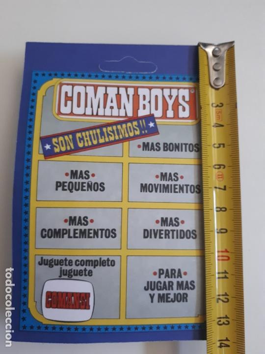 Coman Boys: COMAN BOYS MILITAR SERIE SOLDADOS DEL MUNDO CASCO AZUL REF 661 COMANSI FIGURA BLISTER NUEVO - Foto 3 - 170453160