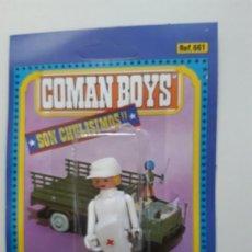 Coman Boys: COMAN BOYS MÉDICO DE COMBATE SERIE SOLDADOS DEL MUNDO REF 661 FIGURA GORRA COMANSI BLISTER NUEVO. Lote 170453848