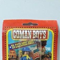 Coman Boys: SOLDADO FEDERAL EN SU BLISTER ORIGINAL . REALIZADO POR COMANSI . AÑOS 70. Lote 171993353