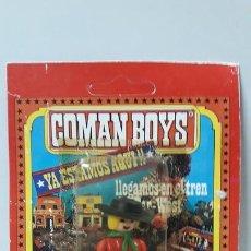 Coman Boys: VAQUERO EN SU BLISTER ORIGINAL . REALIZADO POR COMANSI . AÑOS 70. Lote 171993709