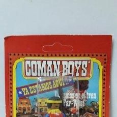 Coman Boys: GUERRERO INDIO EN SU BLISTER ORIGINAL . REALIZADO POR COMANSI . AÑOS 70. Lote 171993813