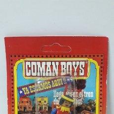 Coman Boys: GUERRERO INDIO EN SU BLISTER ORIGINAL . REALIZADO POR COMANSI . AÑOS 70. Lote 176920242