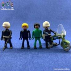 Coman Boys: COMAN BOYS - LOTE DE 4 POLICÍAS - MILITARES + MOTO (INCOMPLETA). Lote 179716541