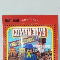 Coman Boys: OFICIAL FEDERAL DE COMAN BOYS . BLISTER ORIGINAL . REALIZADO POR COMANSI . AÑOS 70. Lote 182214267