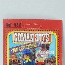 Coman Boys: SOLDADO FEDERAL ABANDERADO DE COMAN BOYS - BLISTER ORIGINAL . COMANSI . AÑOS 70. Lote 182364706