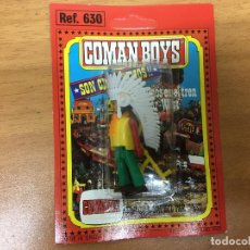 Coman Boys: BLISTER COMAN BOYS JEFE INDIO SIN USAR COMANSI COMANBOYS OESTE. Lote 184569900