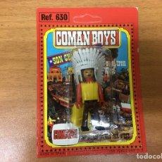 Coman Boys: BLISTER COMAN BOYS JEFE INDIO SIN USAR COMANSI COMANBOYS OESTE. Lote 184569951