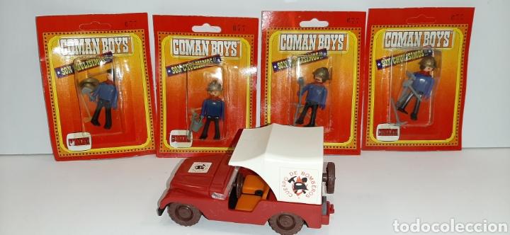 LOTE BOMBEROS COMAN BOYS COMANSI (Juguetes - Figuras de Acción - Coman Boys)