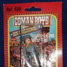 Coman Boys: COMAN BOYS SOLDADO CONFEDERADO CON ACCESORIOS AÑOS 80 EN BLISTER ORIGINAL. Lote 194296637