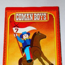 Coman Boys: PUBLICIDAD DESPLEGABLE - COMAN BOYS - COMANSI - '70S.. Lote 194309483