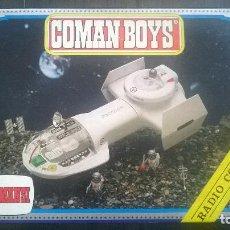 Coman Boys: NAVE KZ.40 RADIO CONTROL COMAN BOYS COMANBOYS - COMANSI - COMANDOS DEL ESPACIO - NUEVA EN CAJA. Lote 196771893