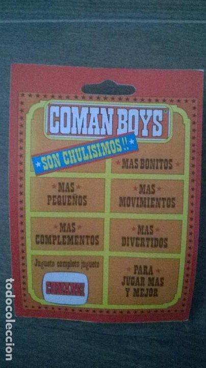 Coman Boys: FIGURA COMAN BOYS COSMO ROBOTS COMANDOS DEL ESPACIO - COMANSI - NUEVO Y PRECINTADO - Foto 2 - 198334786