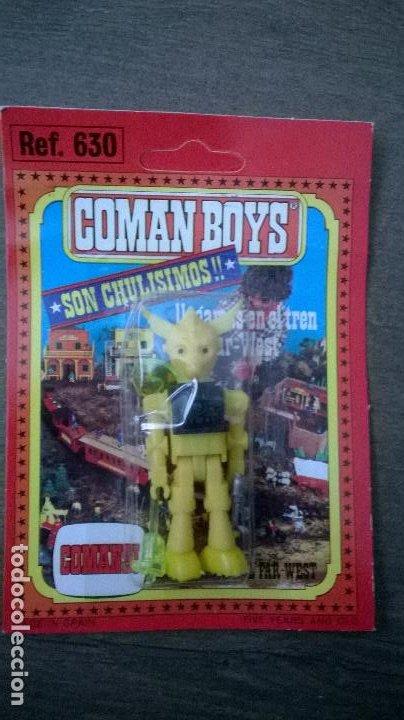 FIGURA COMAN BOYS COSMO ROBOTS COMANDOS DEL ESPACIO - COMANSI - NUEVO Y PRECINTADO (Juguetes - Figuras de Acción - Coman Boys)