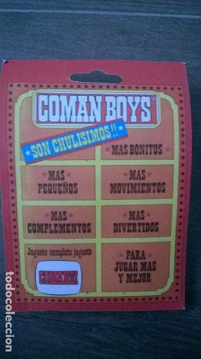 Coman Boys: FIGURA COMAN BOYS COSMO ROBOTS COMANDOS DEL ESPACIO - COMANSI - NUEVO Y PRECINTADO - Foto 2 - 198335878