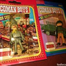 Coman Boys: 4 COMAN BOYS EN BLISTER. Lote 198914981