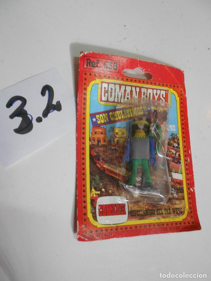 Coman Boys: ANTIGUO BLISTER COMAN BOYS DE COMANSI INDIO REF. 630 - C-3.2 - Foto 2 - 32433848