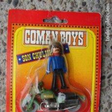 Coman Boys: BOMBERO CON MOTO - COMANBOYS - COMAN BOYS - COMANSI. Lote 201257766