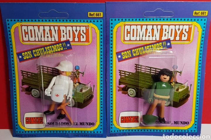 LOTE 2 COMAN BOYS (Juguetes - Figuras de Acción - Coman Boys)