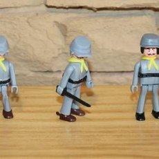 Coman Boys: COMAN BOYS - SERIE OESTE AMERICANO - LOTE DE 5 SOLDADOS CONFEDERADOS - NUEVOS - COMANSI. Lote 206964173
