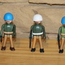 Coman Boys: COMAN BOYS - SERIE SOLDADOS DEL MUNDO - LOTE DE 5 SOLDADOS: POLICIA MILITAR Y CASCOS AZULES - NUEVOS. Lote 206964236