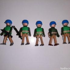 Coman Boys: 5 SOLDADOS DE LOS CASCOS AZULES DE COMAN BOYS DE COMANSI. Lote 207447325