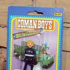 Coman Boys: COMAN BOYS - SOLDADOS DEL MUNDO - COMANSI - ANTIGUO BLISTER - NUEVO - NUNCA JUGADO. Lote 209797557