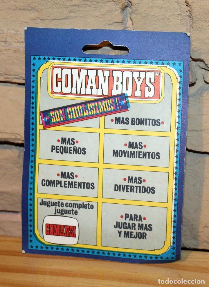 Coman Boys: COMAN BOYS - SOLDADOS DEL MUNDO - COMANSI - ANTIGUO BLISTER - NUEVO - NUNCA JUGADO - Foto 2 - 209797557