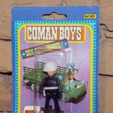 Coman Boys: COMAN BOYS - SOLDADOS DEL MUNDO - COMANSI - ANTIGUO BLISTER - NUEVO - NUNCA JUGADO. Lote 209797580