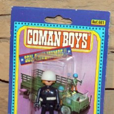 Coman Boys: COMAN BOYS - SOLDADOS DEL MUNDO - COMANSI - ANTIGUO BLISTER - NUEVO - NUNCA JUGADO. Lote 209797610