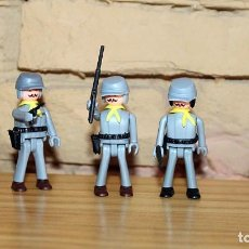 Coman Boys: COMAN BOYS - SERIE OESTE AMERICANO - LOTE DE 5 SOLDADOS CONFEDERADOS - NUEVOS - COMANSI. Lote 209826445