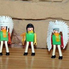 Coman Boys: COMAN BOYS - LOTE 5 FIGURAS - SERIE INDIOS AMERICANOS - NUEVOS - COMANSI - COMANBOYS. Lote 209829623