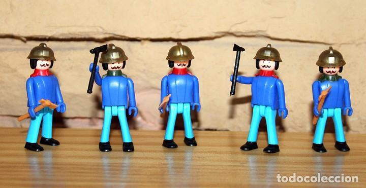 COMAN BOYS - LOTE 5 FIGURAS - BOMBEROS - NUEVOS - COMANSI - COMANBOYS (Juguetes - Figuras de Acción - Coman Boys)