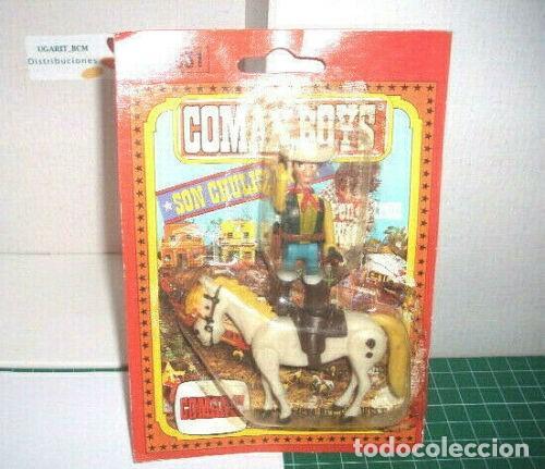 COMAN BOYS LUCKY LUKE COMANSI (Juguetes - Figuras de Acción - Coman Boys)