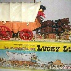 Coman Boys: COMANSI COMAN BOYS CARRETA DE LUCKY LUKE. Lote 211729926