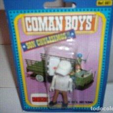 Coman Boys: COMAN BOYS CRUZ ROJA SANITARIO CON MALETIN RADIO Y GORRA ( 1970 ).. Lote 211745784