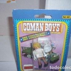 Coman Boys: COMAN BOYS CRUZ ROJA MEDICO CON MALETIN RADIO Y CASCO ( 1970 ).. Lote 211745845