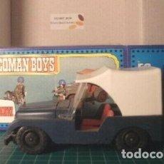 Coman Boys: COMAN BOYS CAMION GRUA DE BOMBEROS, SIN CAJA + 1 BOMBERO EN BLISTER. Lote 211746536