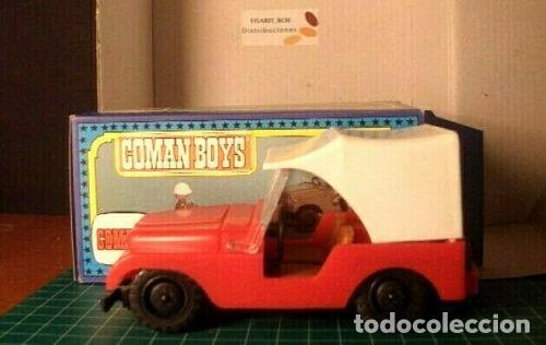 COMAN BOYS.COCHE ROJO EN CAJA (Juguetes - Figuras de Acción - Coman Boys)