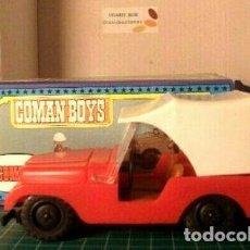 Coman Boys: COMAN BOYS.COCHE ROJO EN CAJA + 1 BOMBERO EN BLISTER. Lote 211747061