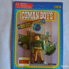 Coman Boys: COMAN BOYS. SOLDADOS DEL MUNDO. REF. 661. FABRICADO EN ESPAÑA. AÑOS 70/80. ROMANJUGUETESYMAS.. Lote 213341026