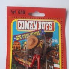 Coman Boys: BLISTER COMAN BOYS SOLDADOS DEL MUNDO DE COMANSI REF 630 VAQUERO COMANBOYS. Lote 215197263