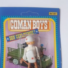 Coman Boys: BLISTER COMAN BOYS SOLDADOS DEL MUNDO DE COMANSI REF 661 MEDICO COMANBOYS. Lote 215197397