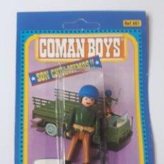 Coman Boys: BLISTER COMAN BOYS SOLDADOS DEL MUNDO DE COMANSI REF 630 INDIO COMANBOYS. Lote 215197771