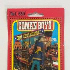 Coman Boys: COMANBOYS COMAN BOYS SOLDADO DE LA UNION CON BANDERA. NUEVO Y SELLADO. Lote 217361337