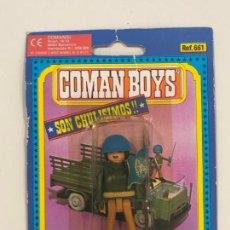 Coman Boys: COMANBOYS COMAN BOYS SOLDADO DE LA ONU CON BANDERA. NUEVO Y SELLADO. Lote 217361541
