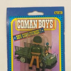 Coman Boys: COMANBOYS COMAN BOYS SOLDADO AMERICANO. NUEVO Y SELLADO. Lote 217361755