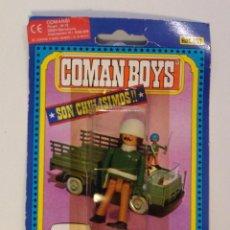 Coman Boys: COMANBOYS COMAN BOYS SOLDADO AMERICANO. NUEVO Y SELLADO. Lote 217361840