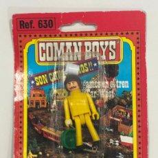 Coman Boys: COMANBOYS COMAN BOYS MECÁNICO. NUEVO Y SELLADO. Lote 217362285